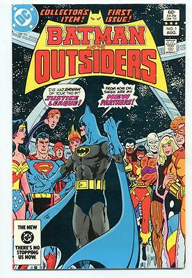 Batman and the Outsiders #1     DC 1983