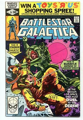 Battlestar Galactica #20     Duel to the Death