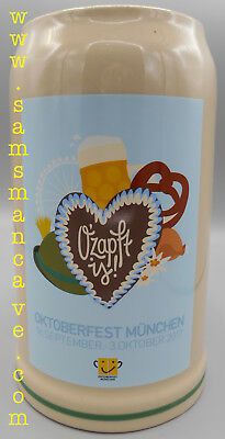 2017 Munich Official Oktoberfest Mug