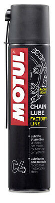 Motul C4 Factory Line chain lube for road bikes motorcycle 400ml