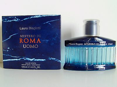 Laura Biagiotti Mistero di Roma Uomo EDT Nat Spray 125ml - 4.2 Oz NIB Retail