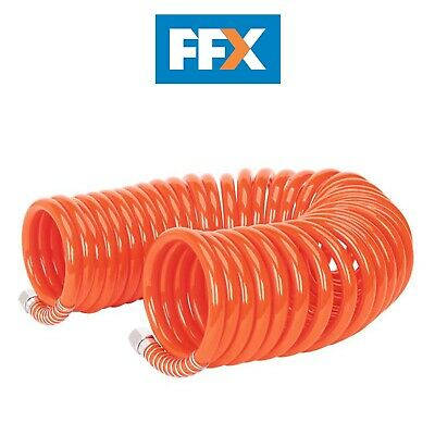 Sealey AH10C/8 Coiled Air Hose 10mtr x Ø8mm 1/4inBSP