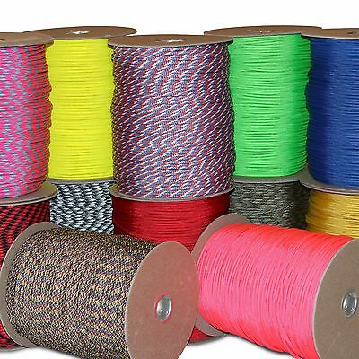 LIQUIDATION SALE Wholesale Parachute Cord 550 Paracord 71000 ft 100 ft 50 ft USA