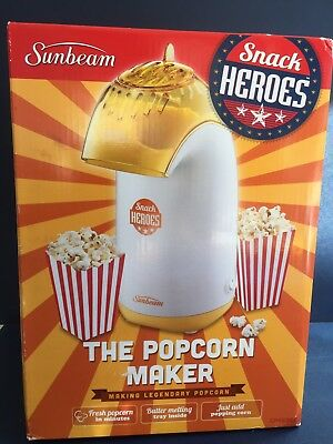 Sunbeam Snack Heroes Popcorn Maker Pop Corn Machine Snacks Maker CP4500A