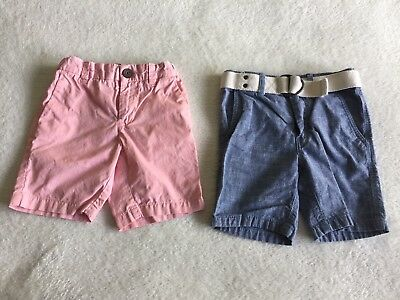 Lot Of Two H&M Logg Baby Boy Shorts Sz 2-3 Years
