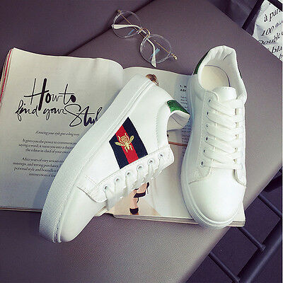 Women Casual Sneakers Ladies Sports Athletic Leisure Running Flat Trainers Shoes