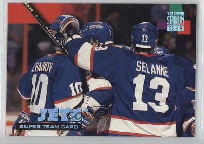 1994-95 Topps Stadium Club Super Redemption #26 Winnipeg Jets Team Hockey Card