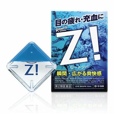 [5/10/20pcs] ROHTO Z! Refresh Cool Eye Drops 12ml from Japan
