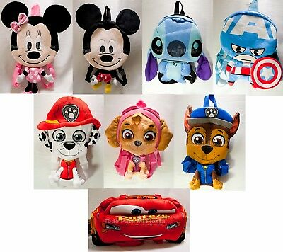 Cars 3D Backpack Minnie Mickey 3D Backpack Pow Patrol 3D Backpack