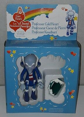 BISOUNOURS CARE BEARS Prof. COEUR DE PIERRE COLD HEART 1984 NEUF KENNER moc
