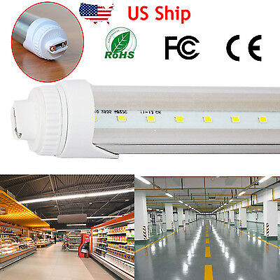 T8 R17D LED Shop Light Tube 4ft 20W (40W equivalent) 5500K Daylight F48T12/CW/HO