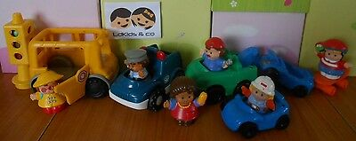 Fisher Price Little People Lot Vehicules - Personnages - Accessoires  # 7