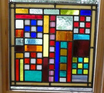 Stained Glass Panel / Sun Catcher