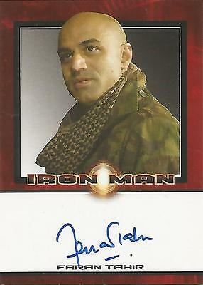 "Iron Man Movie - Faran Tahir ""Raza"" Autograph Card"