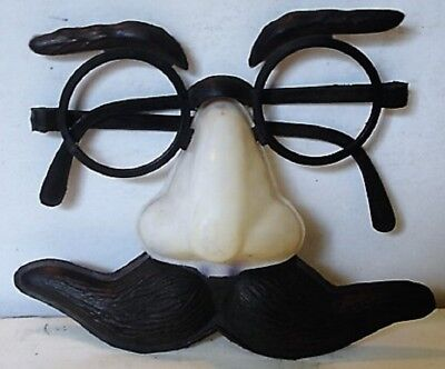 Vintage  Halloween  Eye glasses with Big Nose and Mustache Mask