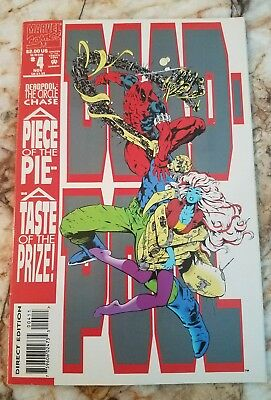 Deadpool Circle Chase #4 Vf Early Deadpool 1 Appearance Key Marvel Comic