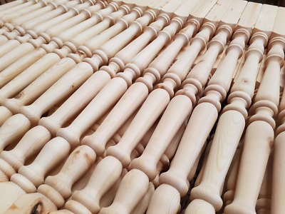 Pine Traditional 41mm stair spindles Pack of 16  (slight seconds )