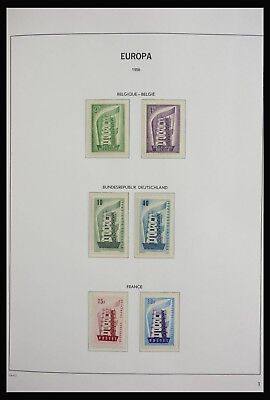 Lot 27805 Collection stamps of United Europe CEPT 1956-2004.