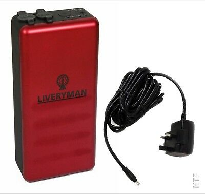 Liveryman Black Beauty Lithium Battery Pack And Battery Charger - Free Uk P&p