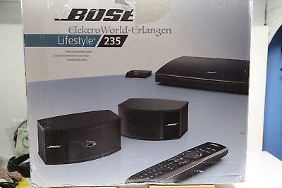 Bose Lifestyle 235 - 2.1 Heimkino Home Theater System 3D - Full HD Schwarz OVP