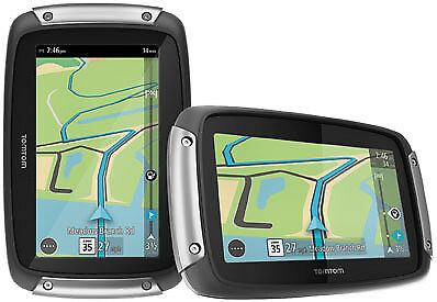 TomTom Rider 400 Motorcycle GPS Navigation Device 1GE0.052.00 91-0107