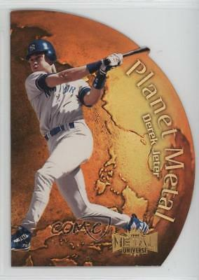 1999 Skybox Metal Universe Planet 6PM Derek Jeter New York Yankees Baseball Card