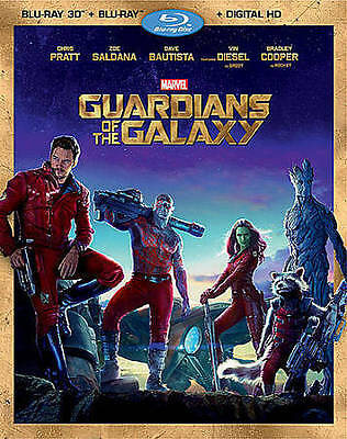 Guardians of the Galaxy (Blu-ray 3D and Blu-Ray)