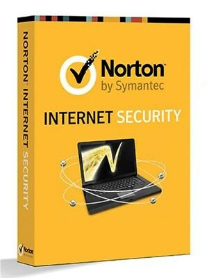 Norton Internet Security Antivirus - All In One 1 PC 1 Year - License Key