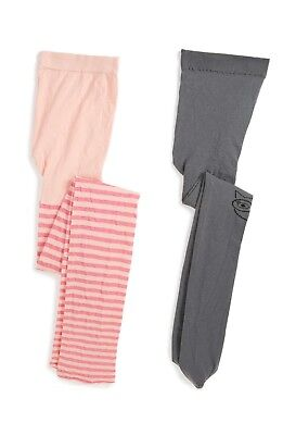 Tucker and Tate 0802  Stripe Footless Tights Sz 7-10