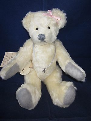 BEARLY THERE Anna The Coachman II Mohair Bear LINDA SPIEGEL TAG VINTAGE NEW