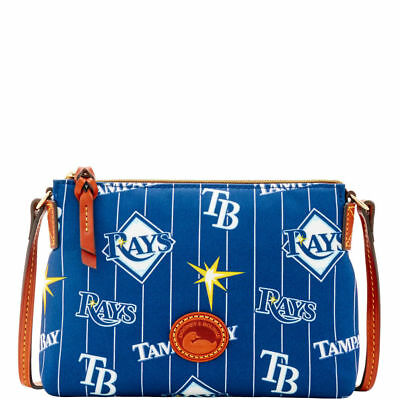 0b45c1ba Dooney & Bourke Tampa Bay Rays Nylon Crossbody Pouchette - Blue
