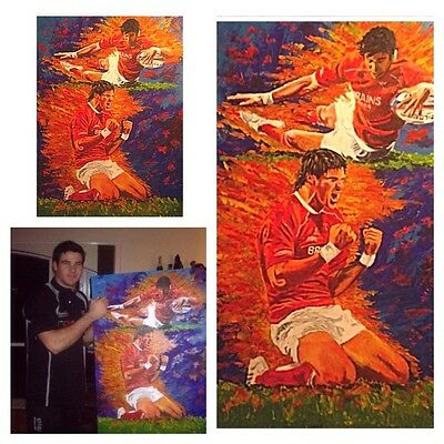 Mike Phillips Wales Signed Original
