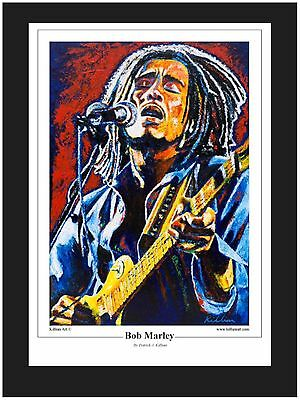 """Bob Marley"" Limited Edition Art Print By Patrick J Killian"