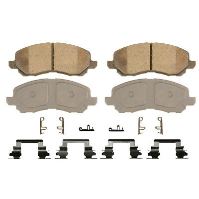 Disc Brake Pad-ThermoQuiet Front WAGNER QC866