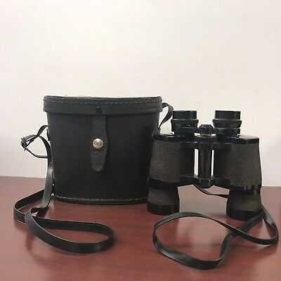 Vintage CARL WETZLAR BINOCULARS Made in Japan NAVIGATOR 7 x 35 w/ Case