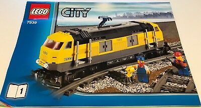 LEGO Instructions For 7939 Yellow Heavy Haul Locomotive