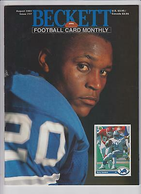 Lot 3: Beckett Football Monthly Price Guides- All NM/Mint