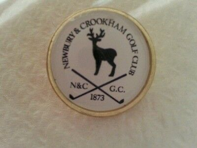 Newbury & Crookham  Golf Club Ball Marker