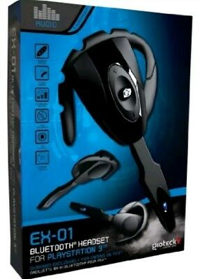 Gioteck EX-01 Bluetooth Headset (PS3) Brand NEW