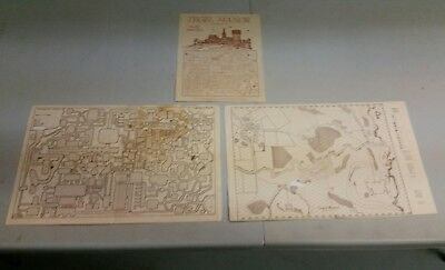 Dungeons and Dragons Tegel Manor Play Aid Maps