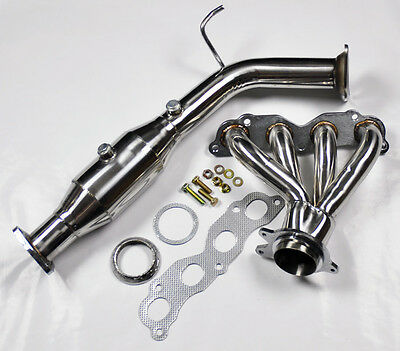 Honda Civic Si EP3 02-05 2.0L DOHC K20 Stainless Header & Downpipe Test Pipe