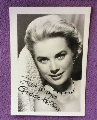 Grace Kelly. Plain Back Card. Fan Club