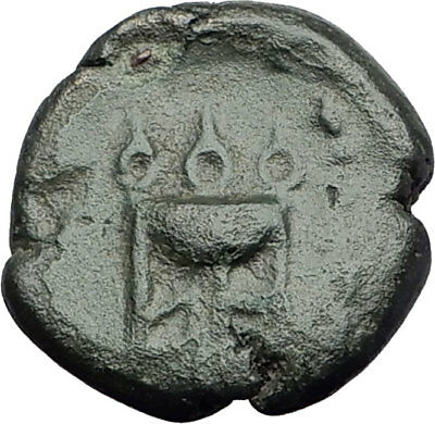PHILIPPI in MACEDONIA 356BC Hercules Tripod Authentic Ancient Greek Coin i64538