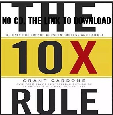 The 10X Rule Difference Between Success and Failure Audiobook - Grant Cardone