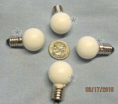 Lionel Bulb, # 526W (18v) for Streetlights, Stations, etc. (4)