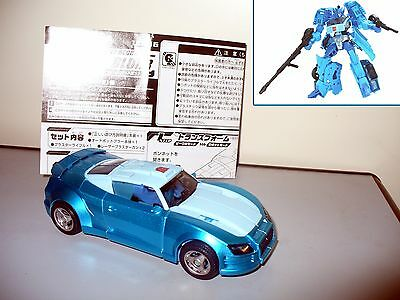 transformers united AUTOBOT BLURR deluxe Takara Tomy 100% completo