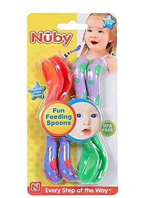 Nuby Toddler Training Spoon and Fork