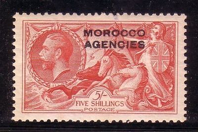 British Morocco: Scott 219, mint, hinged, very important piece. BM16