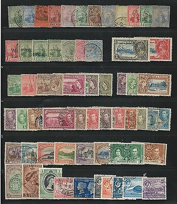 Trinidad and Trinidad Tobago: lot of 65 different stamps, used. TT21