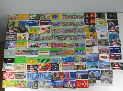 95 Mixed Lot of BT Phone Cards & a Few Other Cards From All Over The World